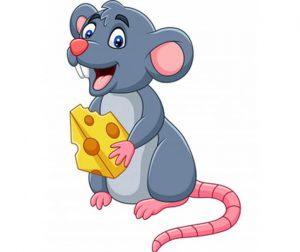 Personajes roedores, Ratoncito Pérez, Mickey Mouse, Pikachu