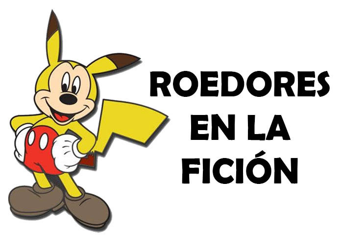 Mickey Mouse y Pikachu